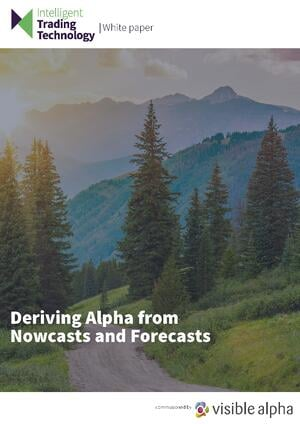 Deriving Alpha from Nowcasts and Forecasts white paper