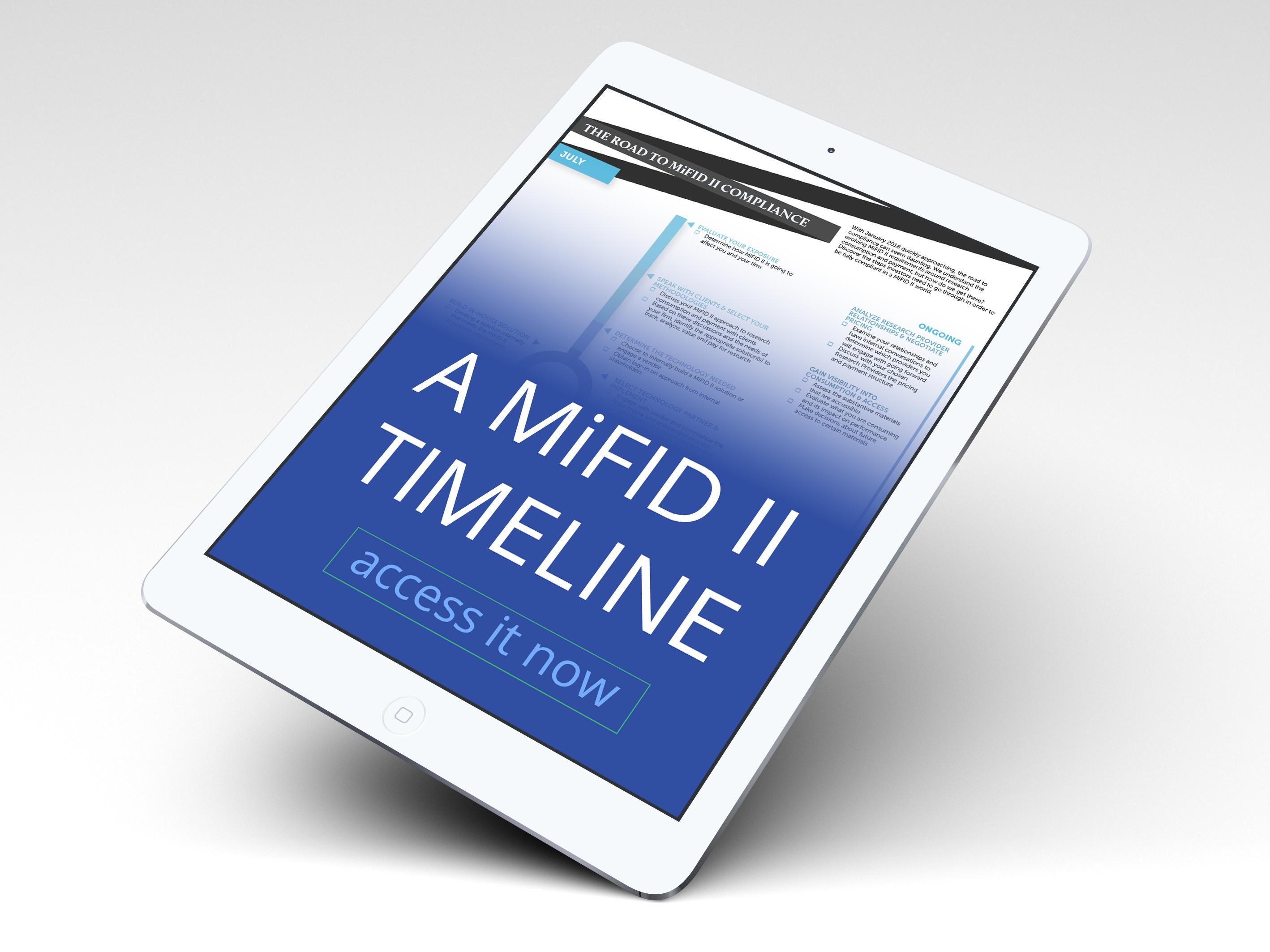MiFID II Timeline Cover Photo B